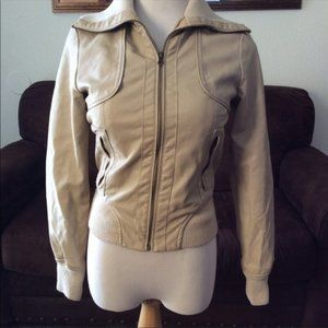 ⬇️$65 Miss London faux leather jacket smal…